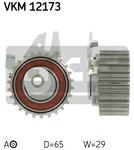 Натяжной ролик, ремень грм Skf SK VKM 12173