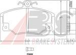 Комплект тормозных колодок, дисковый тормоз A.b.s. 36521
