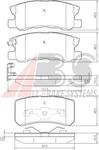 Комплект тормозных колодок, дисковый тормоз A.b.s. 37199
