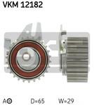 Натяжной ролик, ремень грм Skf VKM12182
