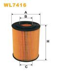 Масляный фильтр Wix Filters WL7416