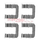 Комплектующие, колодки дискового тормоза Metzger 1091735