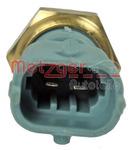 Датчик, температура охлаждающей жидкости Metzger 0905376