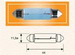 Лампа накаливания, фонарь освещения номерного знака Magneti Marelli 009462200000