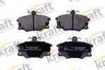 Комплект тормозных колодок, дисковый тормоз Kraft Automotive 6003020