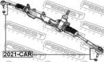Наконечник поперечной рулевой тяги Febest 2021CAR