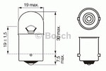 Лампа накаливания, фонарь указателя поворота Bosch 1987302204