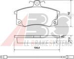 Комплект тормозных колодок, дисковый тормоз A.b.s. 37079