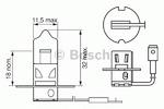 Лампа накаливания, фара дальнего света Bosch 1 987 302 031