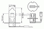 Лампа накаливания, фара дальнего света Bosch BO 1987302031