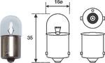 Лампа накаливания, фонарь освещения номерного знака Magneti Marelli 004007100000