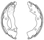 Комплект тормозных колодок (задний мост) Roadhouse 423400