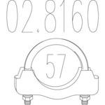 Соединительные элементы, система выпуска Mts MTS 02.8160
