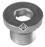 Резьбовая пробка, маслянный поддон Metalcaucho 05254
