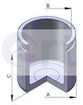 Поршень, корпус скобы тормоза (передний мост) Ert ERT 150592-C
