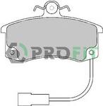 Комплект тормозных колодок, дисковый тормоз Profit PR 5000-1325