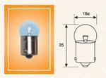 Лампа накаливания, фонарь освещения номерного знака Magneti Marelli 004009100000