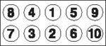 Комплект болтов головки цилидра Payen HBS052