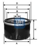 Масляный фильтр Ufi 2312700