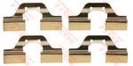 Комплектующие, колодки дискового тормоза Trw PFK405