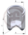 Поршень, корпус скобы тормоза Autofren Seinsa D02597