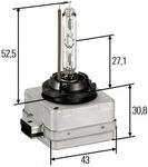 Лампа накаливания, фара рабочего освещения Hella 8GS009028111