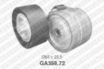 Натяжной ролик, поликлиновой  ремень Snr SNR GA358.72