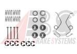 Комплектующие, тормозная колодка A.b.s. 0625Q