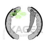 Комплект тормозных колодок (задний мост) Kager 34-0198