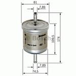 Топливный фильтр Bosch 0450905318