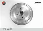 Тормозной барабан (задний мост) Fenox TO216153