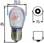 Лампа накаливания, фонарь указателя поворота Hella 8GA002073271