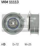 Натяжной ролик, ремень грм Skf VKM 11113