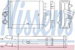 Теплообменник, отопление салона Nissens NI 71453