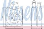 Масляный радиатор, двигательное масло Nissens 90607