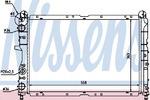 Радиатор, охлаждение двигателя Nissens 61847