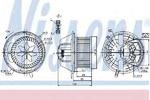 Вентилятор салона Nissens NI 87062