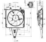 Вентилятор, охлаждение двигателя Nrf 47431