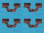 Комплектующие, колодки дискового тормоза Autofren Seinsa D42342A