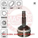 Шарнирный комплект, приводной вал Master-Sport 302069-SET-MS