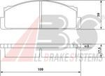Комплект тормозных колодок, дисковый тормоз A.b.s. 36004