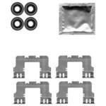 Комплектующие, колодки дискового тормоза Delphi LX0617