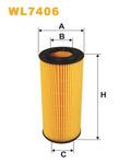 Масляный фильтр Wix Filters WL7406