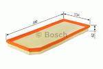 Воздушный фильтр Bosch F026400119