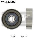 Паразитный / ведущий ролик, поликлиновой ремень Skf VKM32009