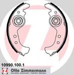 Комплект тормозных колодок Zimmermann 109901001