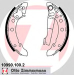 Комплект тормозных колодок Zimmermann 109901002