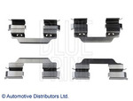 Комплектующие, колодки дискового тормоза Blue Print ADN148601