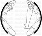 Комплект тормозных колодок Metelli 53-0468