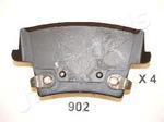Комплект тормозных колодок, дисковый тормоз (задний мост) Japanparts PP-902AF